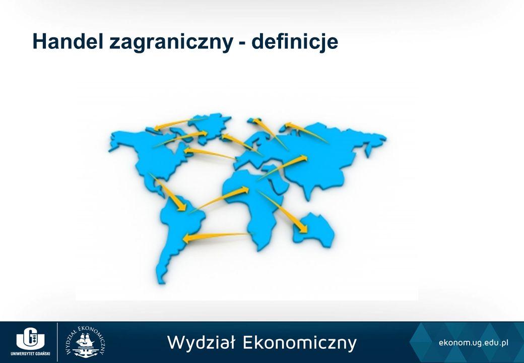 Handel zagraniczny - definicje