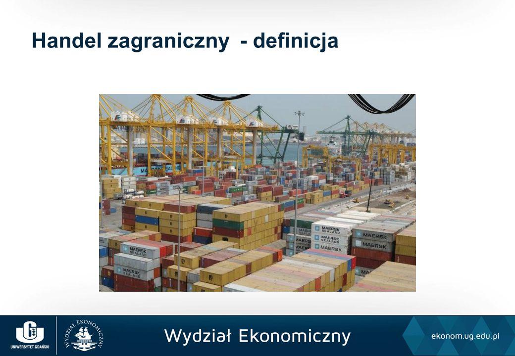 Handel zagraniczny - definicja