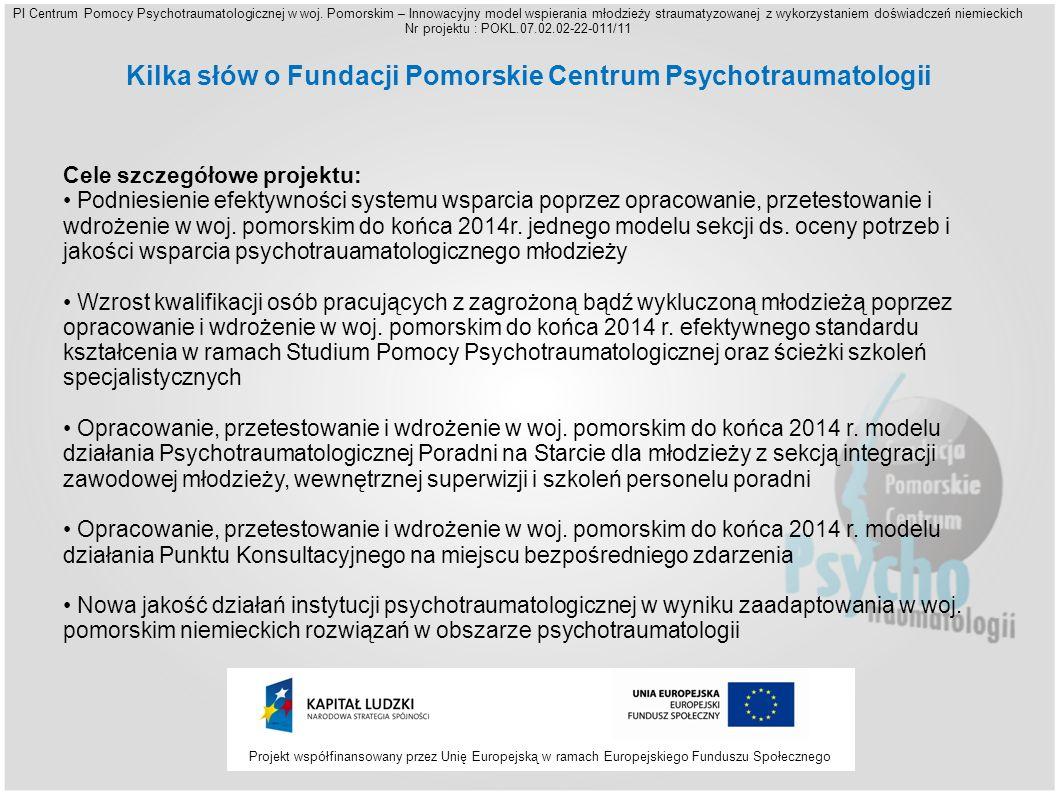 PI Centrum Pomocy Psychotraumatologicznej w woj.