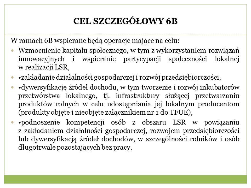 Podmioty wg sekcji PKD na obszarze LGD (2014 rok)