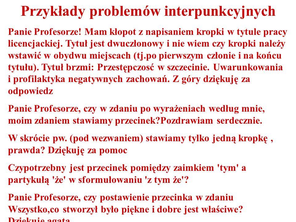 Przykłady problemów słowotwórczych Jak powinno się mówić na obywateli dziwnych krajów.
