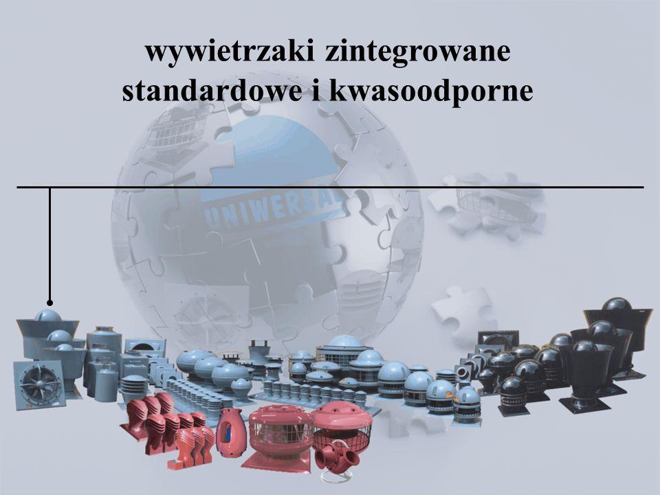 wywietrzniki zintegrowane standardowe i kwasoodporne wywietrzaki zintegrowane standardowe i kwasoodporne