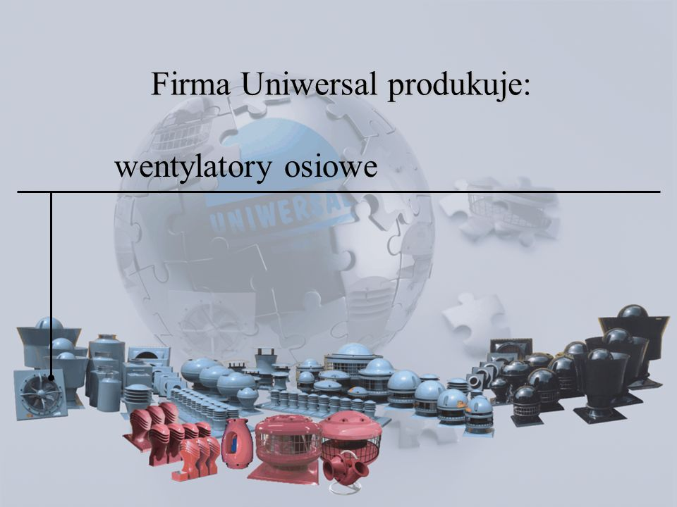 wentylatory dachowe standardowe Fen rozmiary  obroty 700, 900 obr./min zakres podciśnienia statycznego 75-250 Pa wydajność 360-7200 m 3 /h poziom ciśnienia akustycznego 51-76 dBA na wlocie do wentylatora www.uniwersal.com.pl Specjalna konstrukcja wentylatorów pozwala na korzystanie z wentylacji naturalnej i czasowe wyłączanie silnika wtedy, gdy panują sprzyjające do tego warunki atmosferyczne.