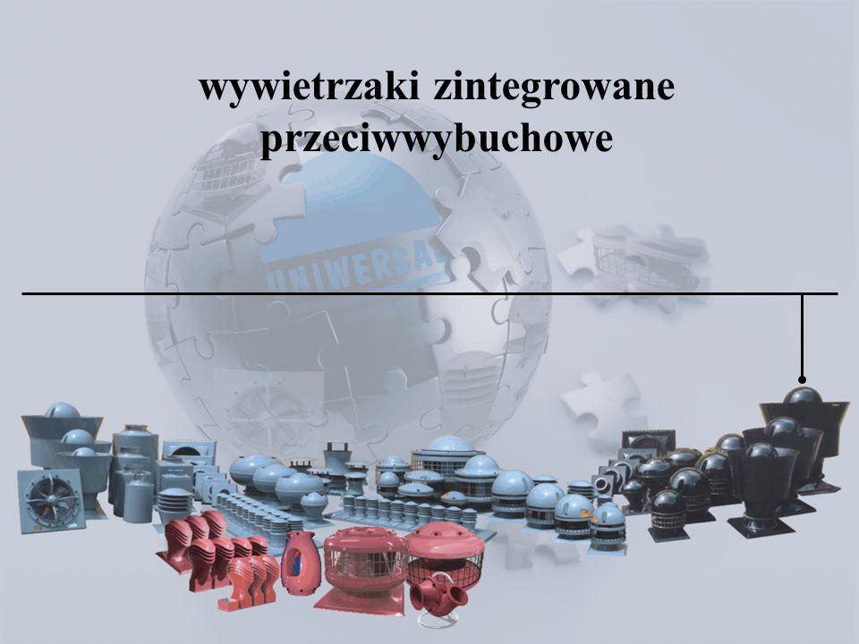 : Wywietrzaki zintegrowane przeciwwybuchowe : wywietrzaki zintegrowane przeciwwybuchowe