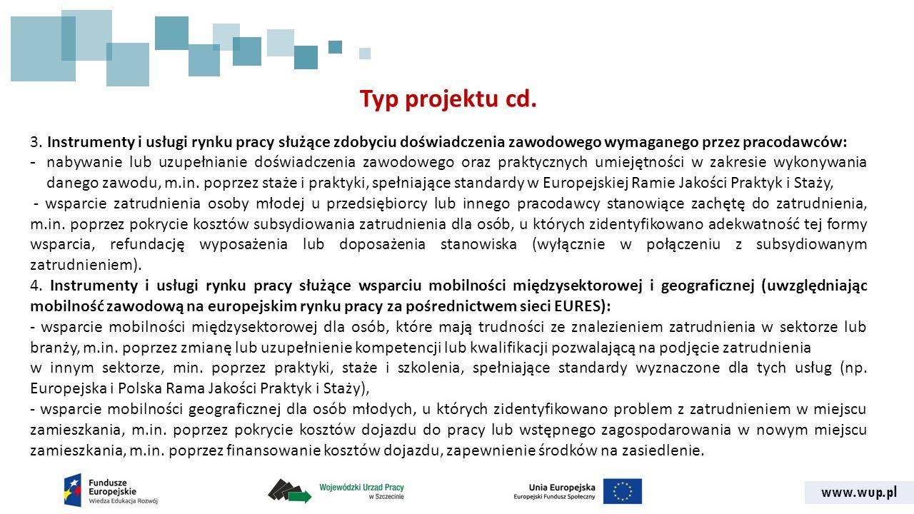 www.wup.pl Typ projektu cd. 3.