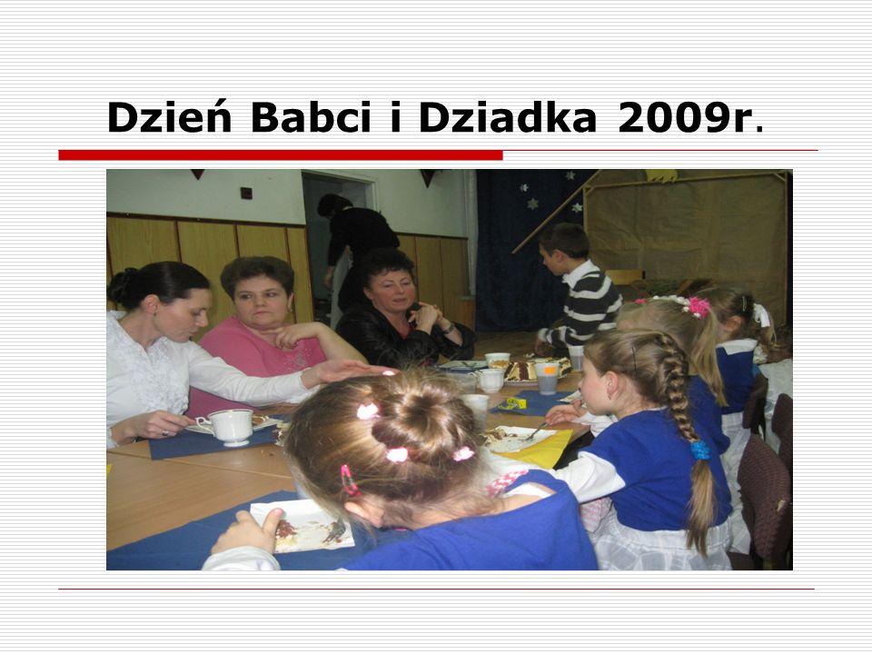 Dzień Babci i Dziadka 2009r.
