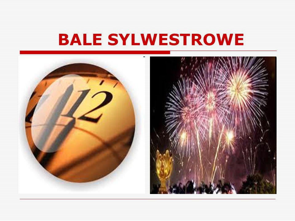 BALE SYLWESTROWE