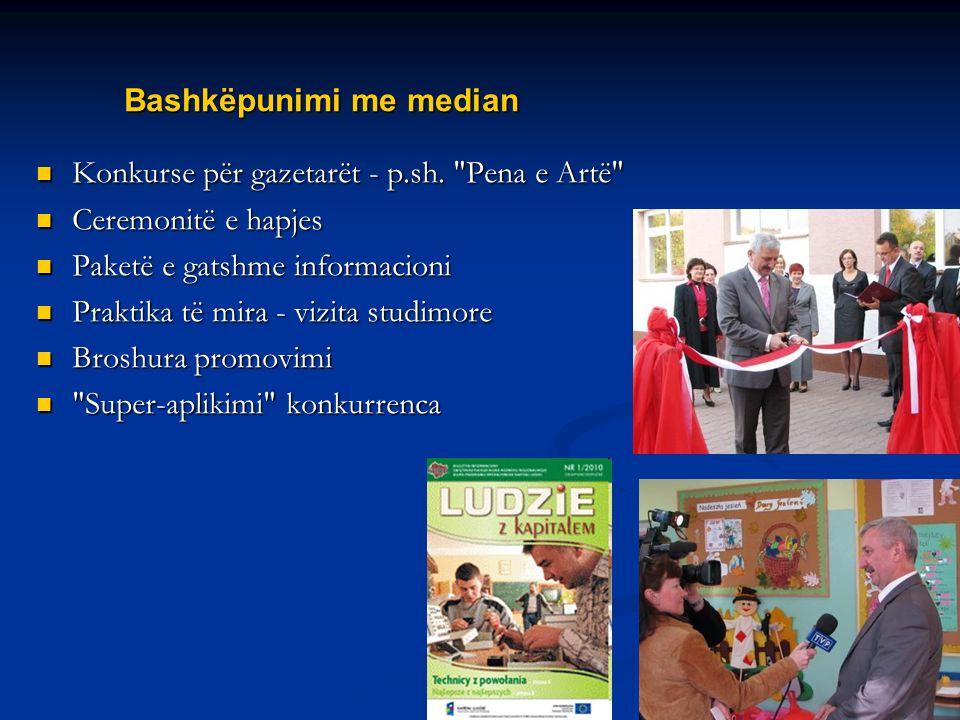 Name of your presentation Bashkëpunimi me median Konkurse për gazetarët - p.sh.