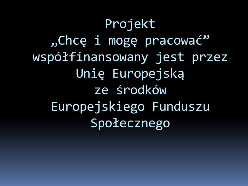 Zespół projektowy: koordynator projektu Grażyna Witucka księgowa projektu Małgorzata Koprowska pracownicy socjalni Małgorzata Duszyńska Wioletta Comblik