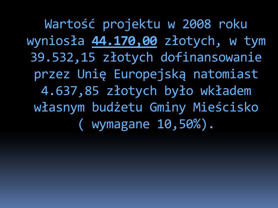 Umowa ramowa nr: POKL.07.01.01- 30/017/08-00 z Wojewódzkim Urzędem Pracy w Poznaniu została podpisana w dniu 2008-08-29.