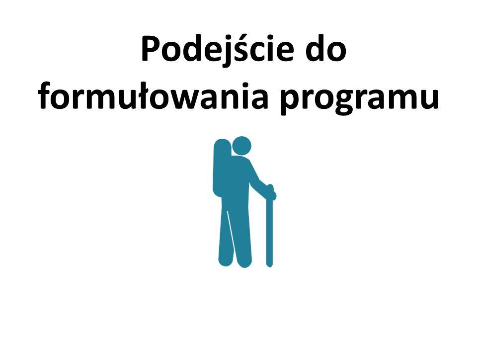 Podejście do formułowania programu