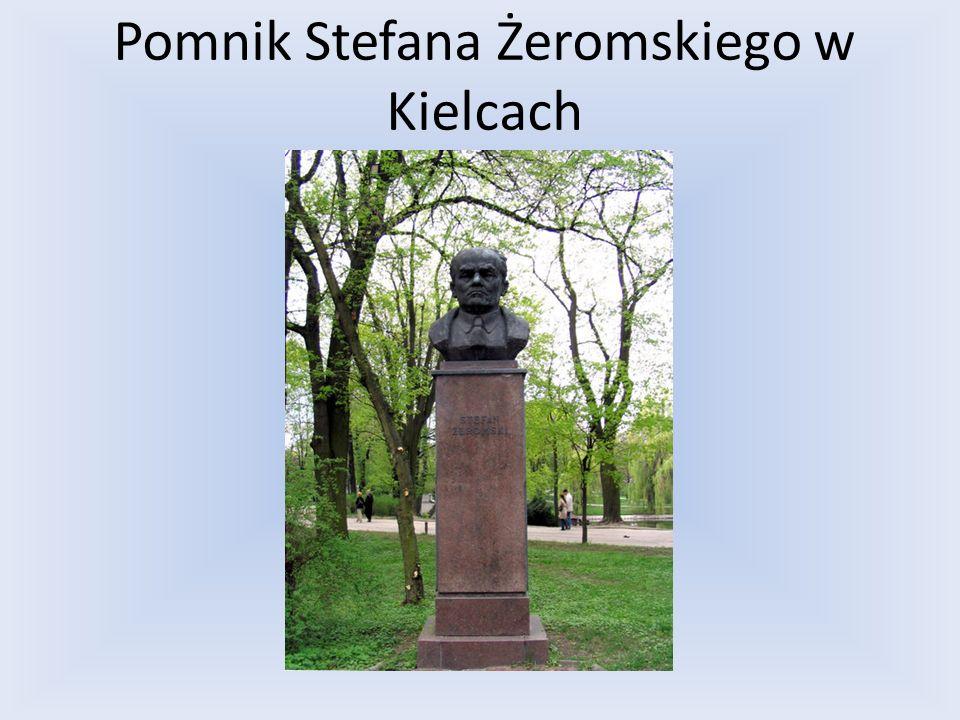 Pomnik Stefana Żeromskiego w Kielcach