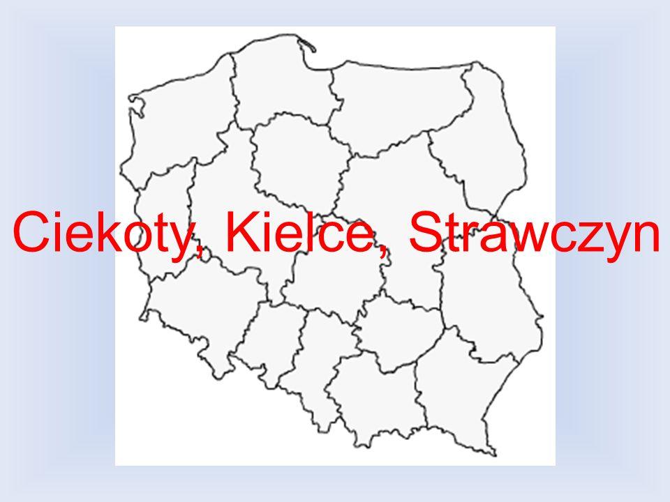 Ciekoty, Kielce, Strawczyn