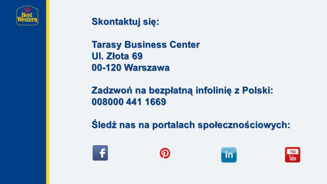 Skontaktuj się: Tarasy Business Center Ul.