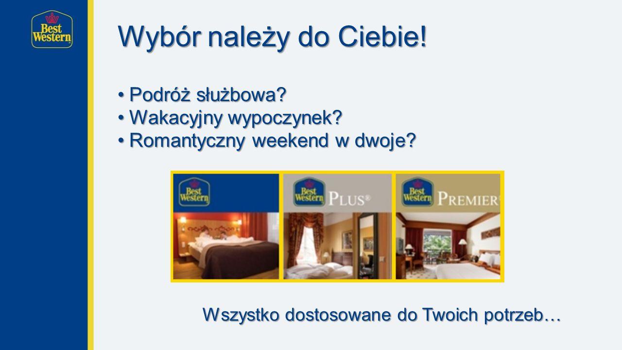 Czego możesz się spodziewać we wszystkich naszych hotelach.