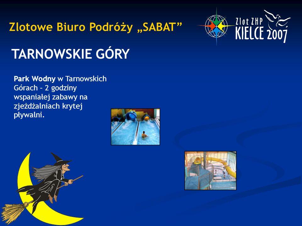 """Zlotowe Biuro Podróży """"SABAT"""" TARNOWSKIE GÓRY Park Wodny w Tarnowskich Górach – 2 godziny wspaniałej zabawy na zjeżdżalniach krytej pływalni."""