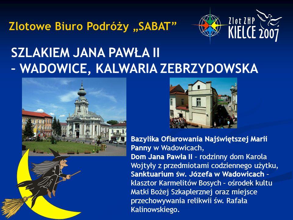 """Zlotowe Biuro Podróży """"SABAT GÓRY ŚWIĘTOKRZYSKIE Wycieczki piesze krajoznawcze, których trasy przebiegać będą szlakami Świętokrzyskiego Parku Narodowego."""