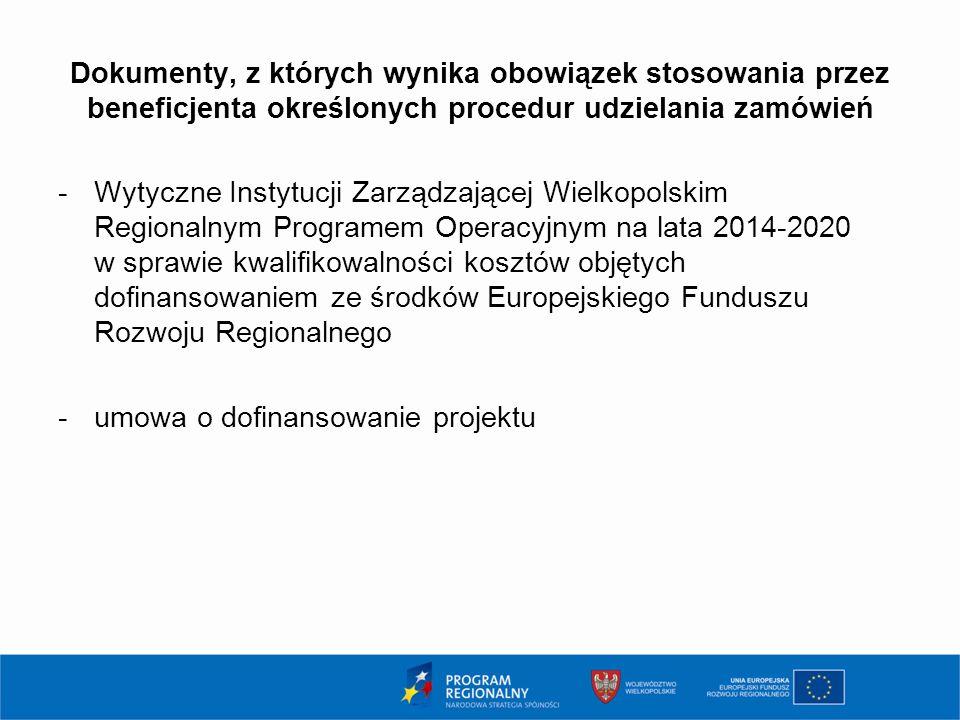 Naruszenia zasad udzielania zamówień Rozporządzenie Ministra Rozwoju z dn.