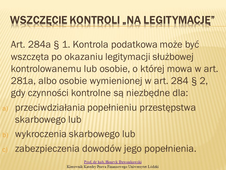 Art. 284a § 1.