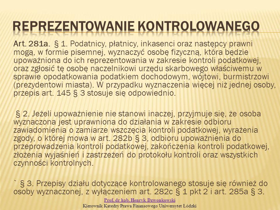 Art. 281a. § 1.