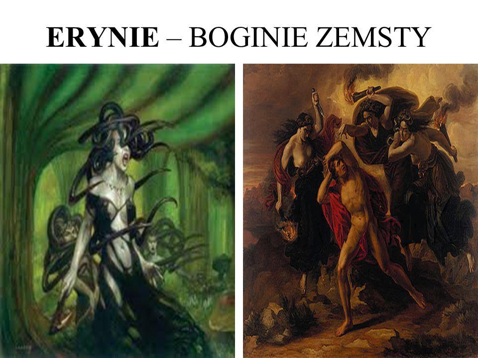 ERYNIE – BOGINIE ZEMSTY