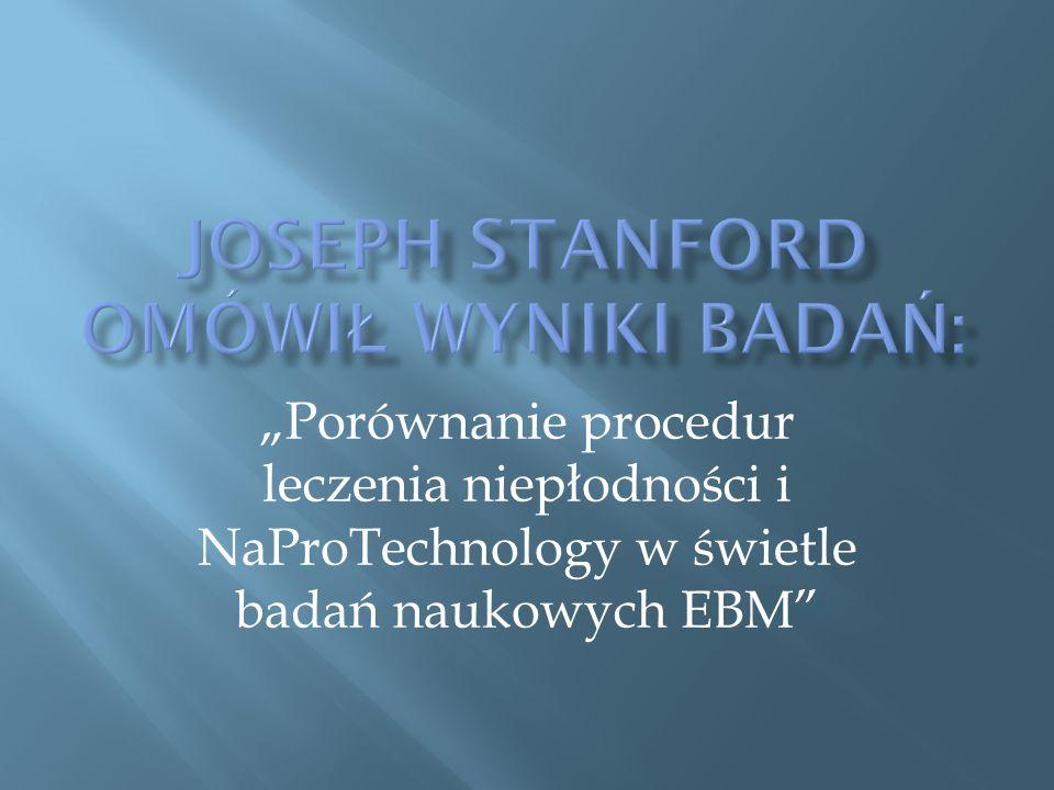 """""""Porównanie procedur leczenia niepłodności i NaProTechnology w świetle badań naukowych EBM"""