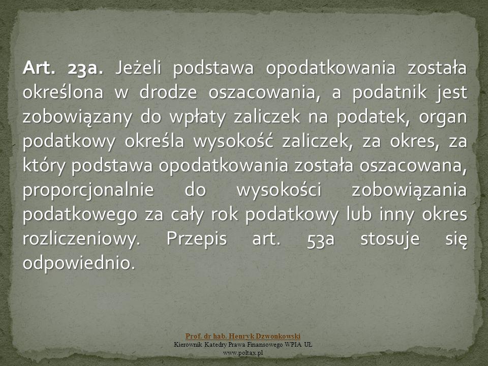 Art. 23a.
