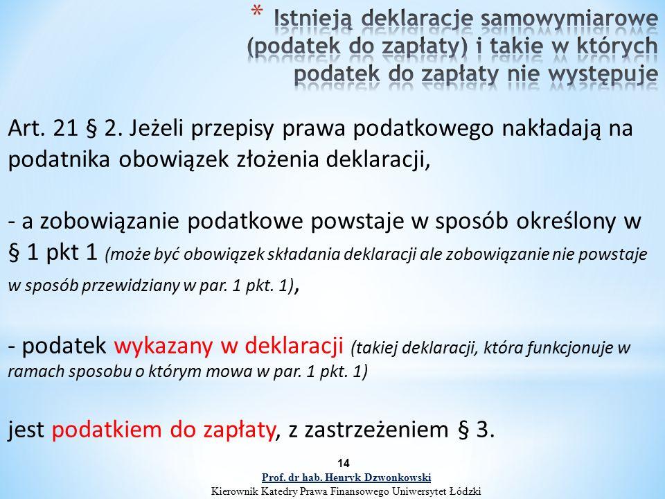 Art. 21 § 2.