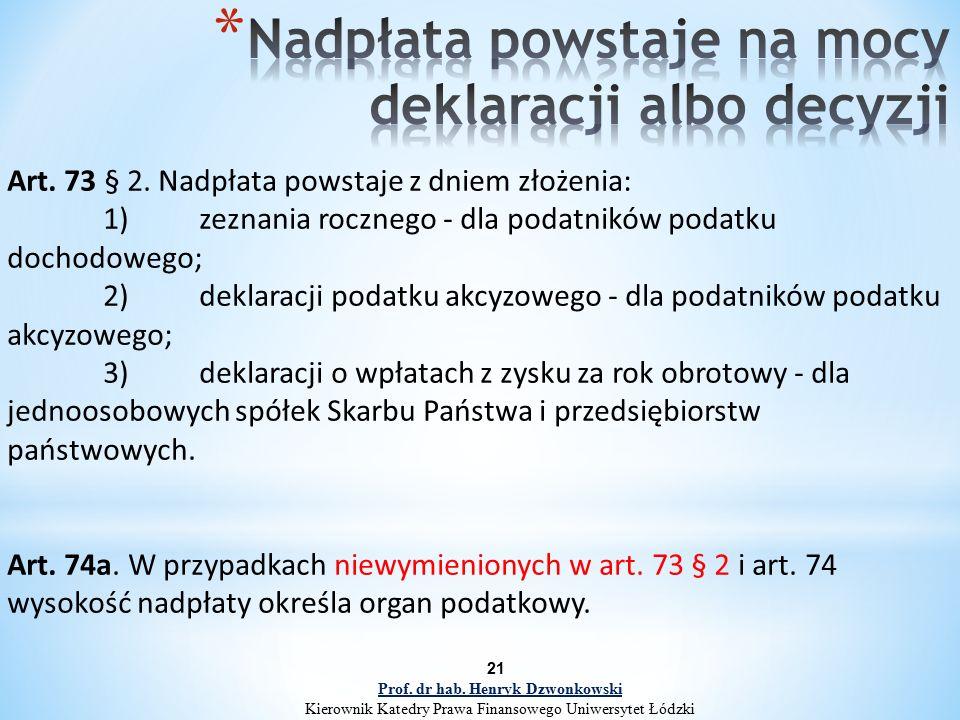 Art. 73 § 2.