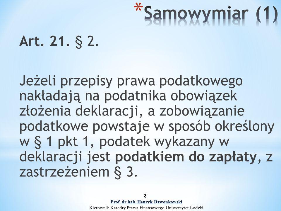 3 Art. 21. § 2.