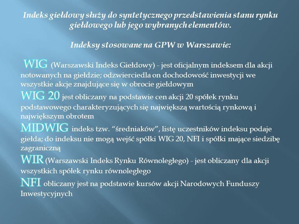 Pierwsze giełdy papierów wartościowych na terenie Polski powstały w XIX wieku, tak, więc w okresie zaborów.