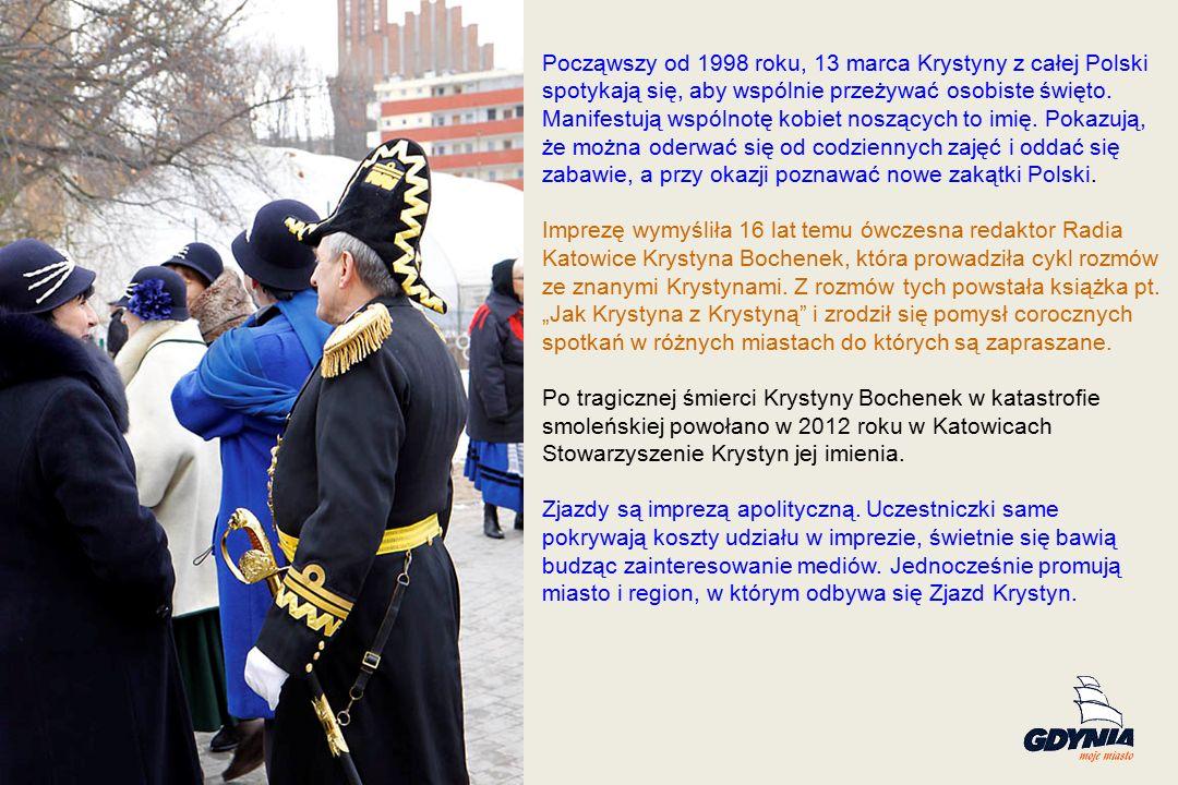 Począwszy od 1998 roku, 13 marca Krystyny z całej Polski spotykają się, aby wspólnie przeżywać osobiste święto.