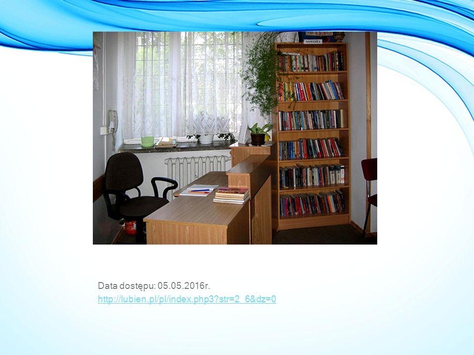 Data dostępu: 05.05.2016r. http://lubien.pl/pl/index.php3?str=2_6&dz=0