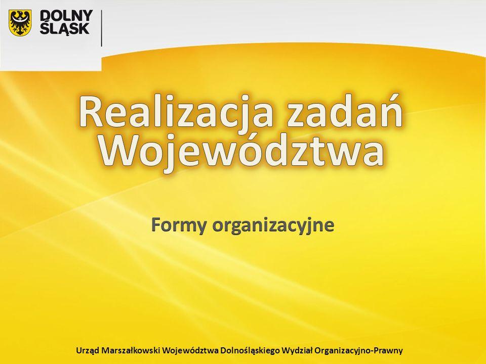 Urząd Marszałkowski Województwa Dolnośląskiego Wydział Organizacyjno-Prawny