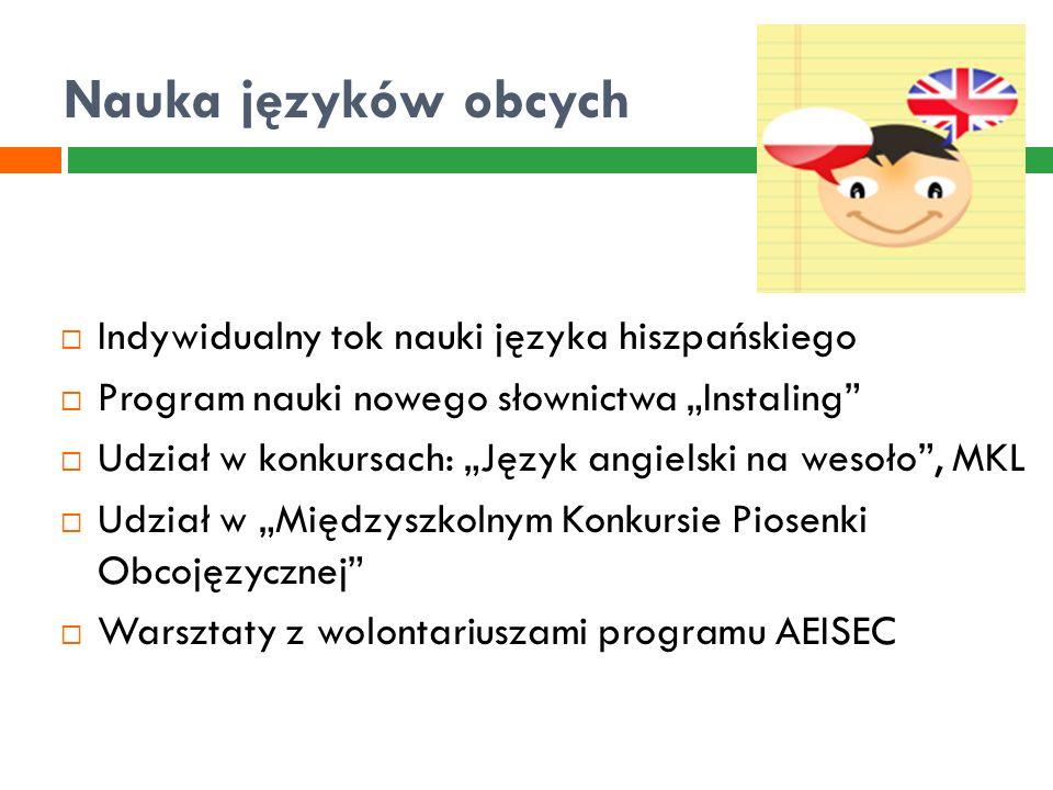 Projekty edukacyjne  Realizacja projektów międzynarodowych i krajowych w ramach programu e-Twinning  Praca metodą projektu  Organizacja Dzielnicowego Konkursu na Najlepszy Projekt Edukacyjny