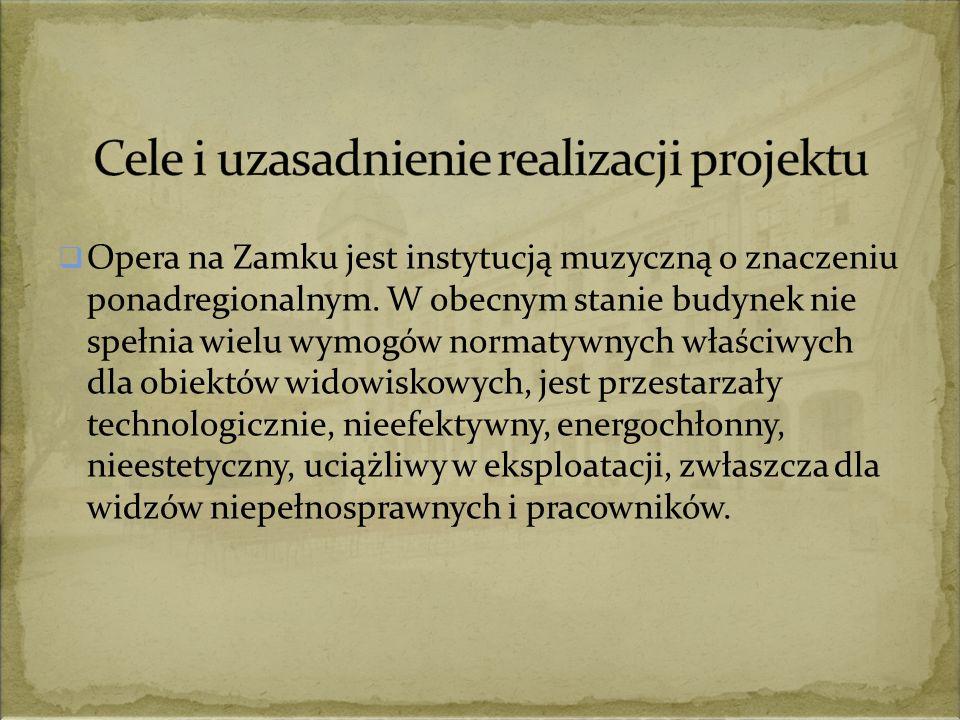  Opera na Zamku jest instytucją muzyczną o znaczeniu ponadregionalnym.