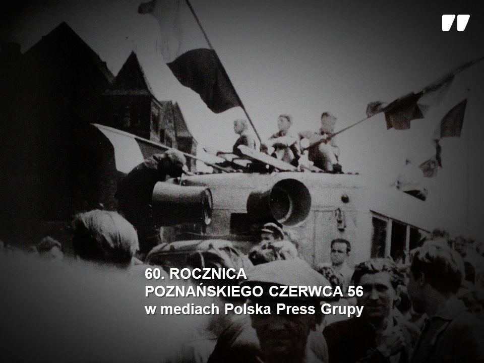 Czerwiec 1956 r.- to pierwszy zryw wolności w komunistycznej Polsce.
