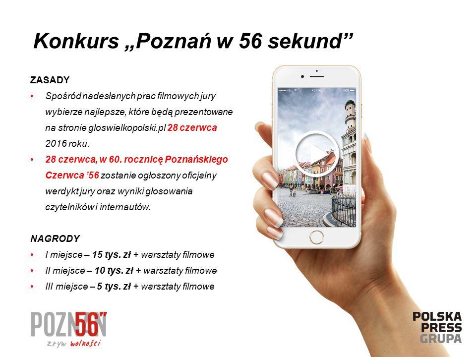 ZASADY Spośród nadesłanych prac filmowych jury wybierze najlepsze, które będą prezentowane na stronie gloswielkopolski.pl 28 czerwca 2016 roku. 28 cze