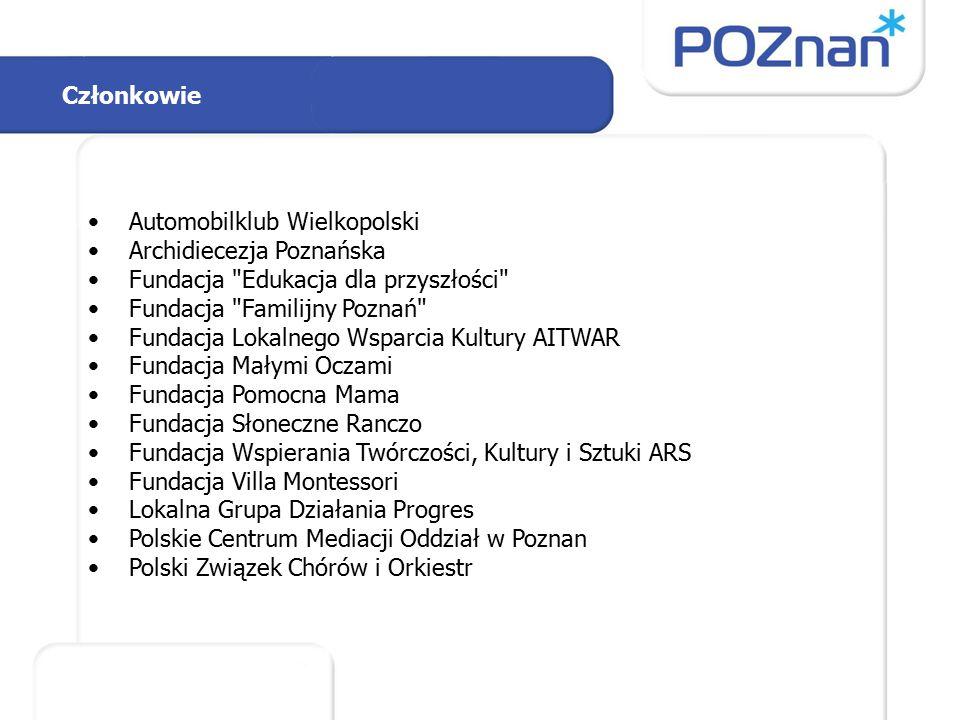 Członkowie Automobilklub Wielkopolski Archidiecezja Poznańska Fundacja