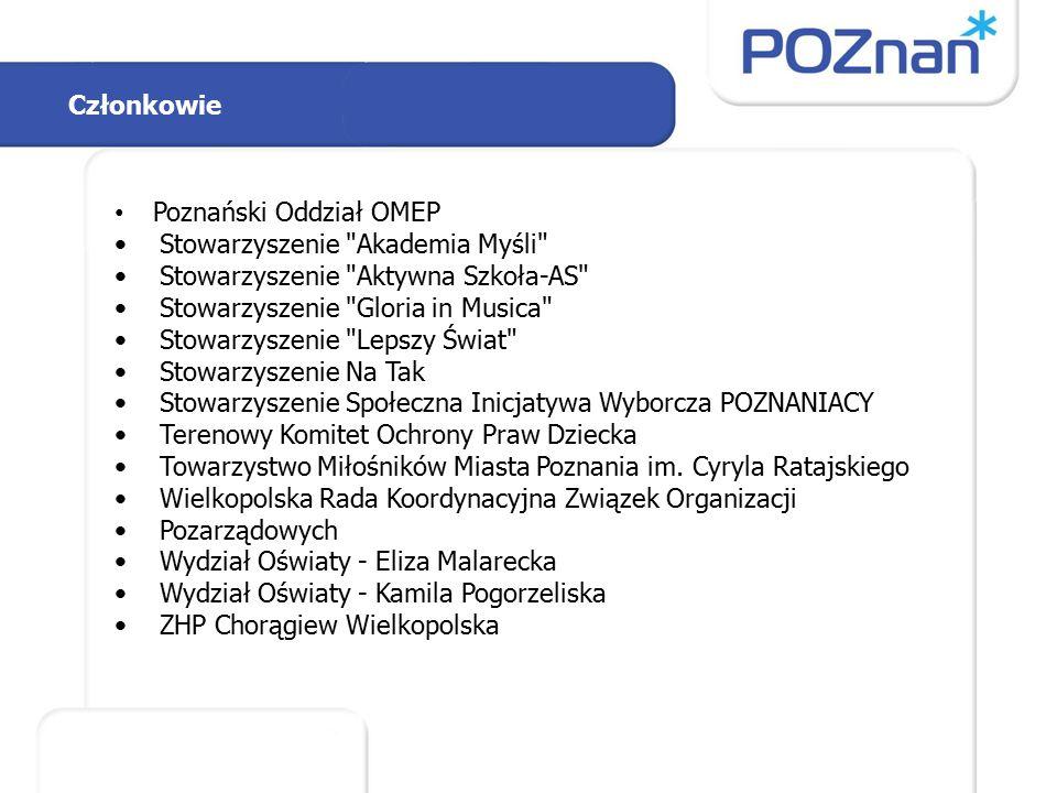 Członkowie Poznański Oddział OMEP Stowarzyszenie