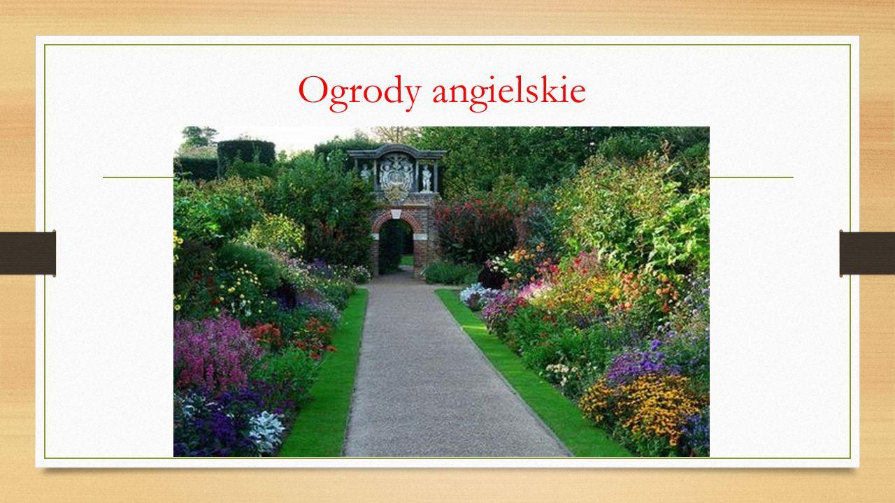 Ogrody angielskie