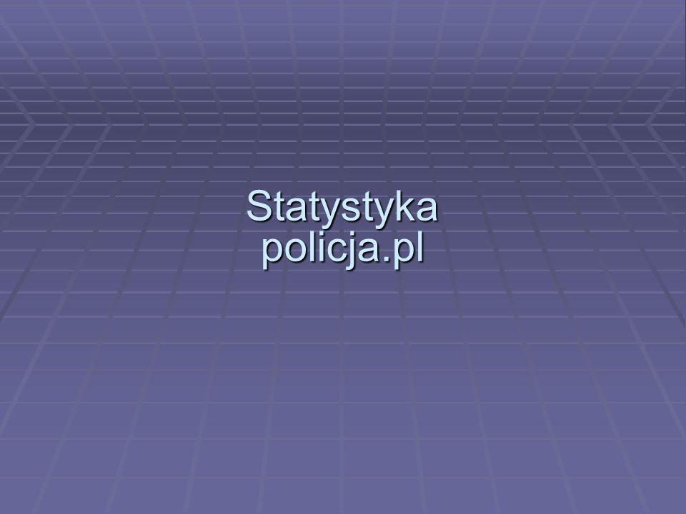 Statystyka policja.pl