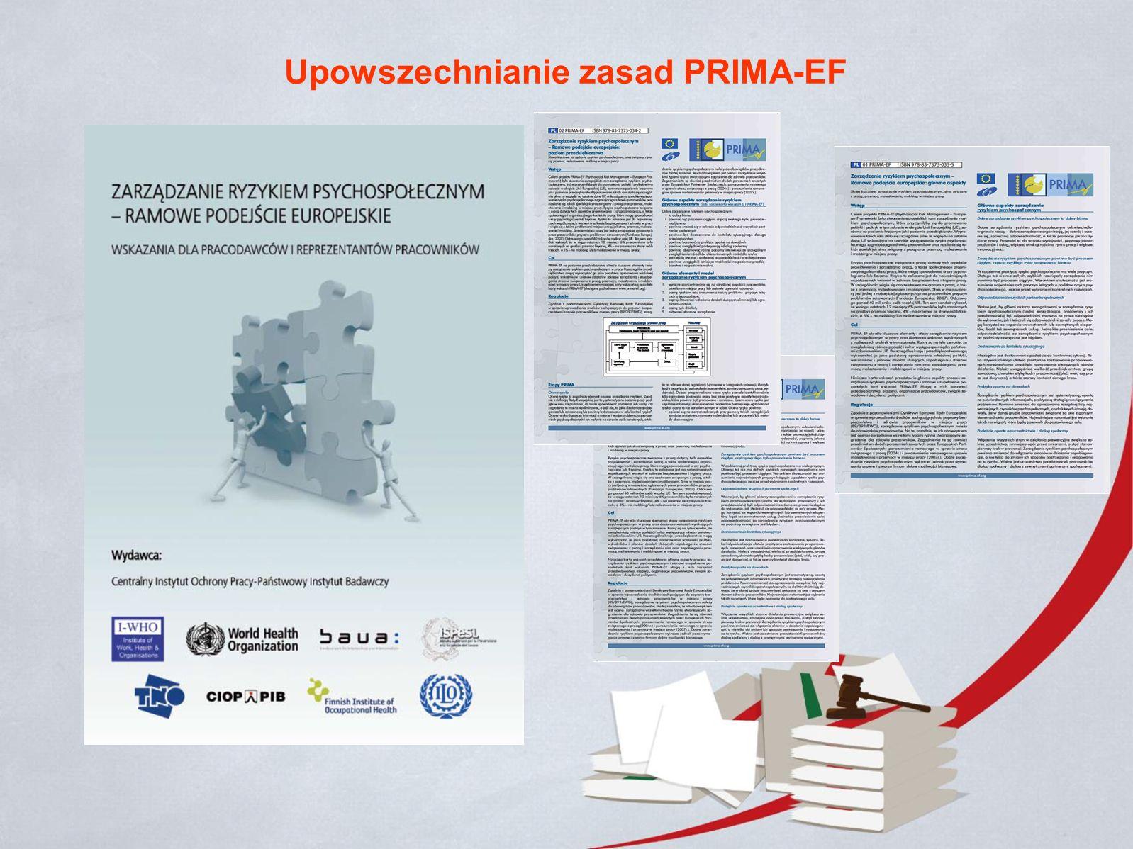 Upowszechnianie zasad PRIMA-EF
