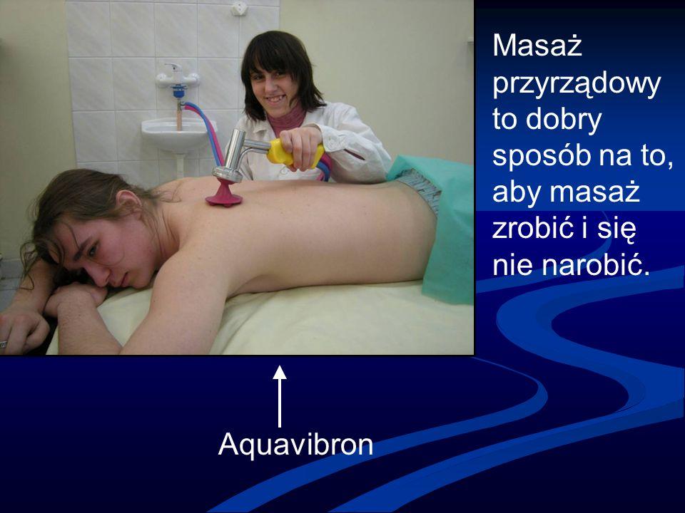 Masaż przyrządowy to dobry sposób na to, aby masaż zrobić i się nie narobić. Aquavibron