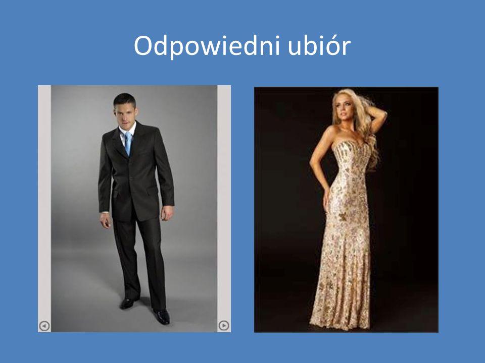 Odpowiedni ubiór