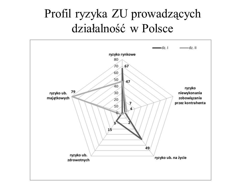 Profil ryzyka ZU prowadzących działalność w Polsce