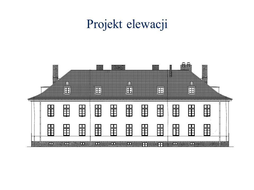 Projekt elewacji