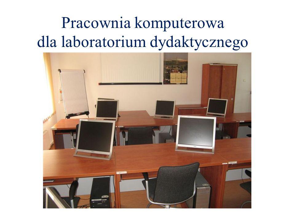 Pracownia komputerowa dla laboratorium dydaktycznego