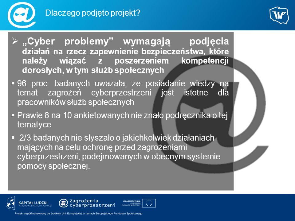 """ """"Cyber problemy"""" wymagają podjęcia działań na rzecz zapewnienie bezpieczeństwa, które należy wiązać z poszerzeniem kompetencji dorosłych, w tym służ"""