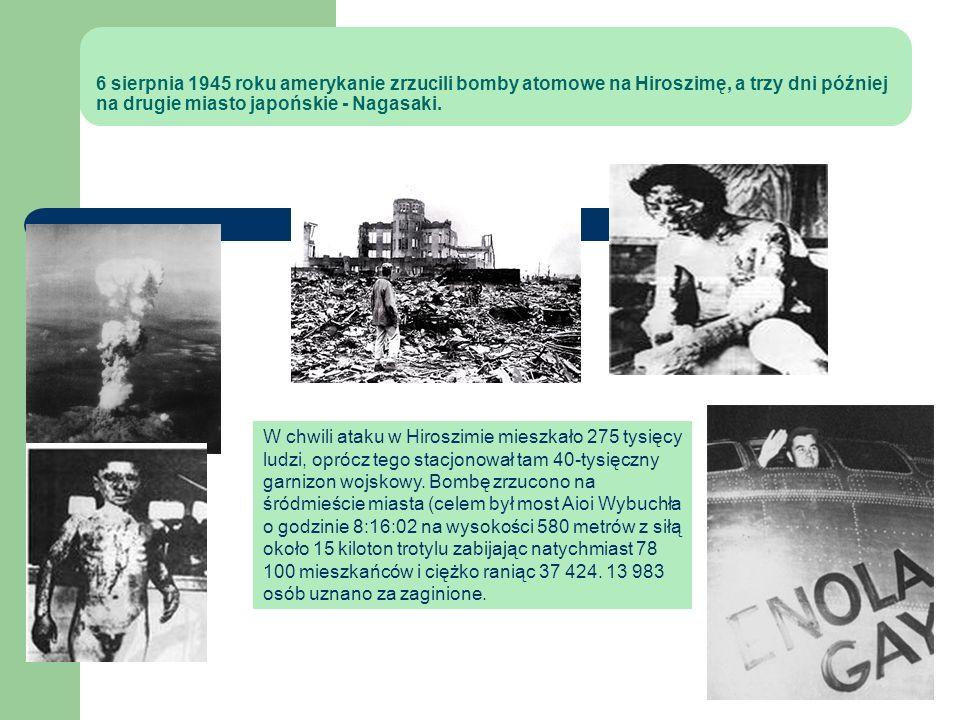 Historia broni jądrowej: Eksplozja próbna: – 16 lipca 1945 – pustynia w stanie Nowy Meksyk (USA), miejsce próby nazywano nieoficjalnie Jornada del Mue